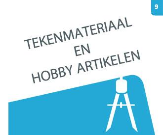 Bekijk hoofdstuk 9 Tekenmateriaal en hobby artikelen
