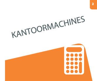 Bekijk hoofdstuk 2 Kantoormachines